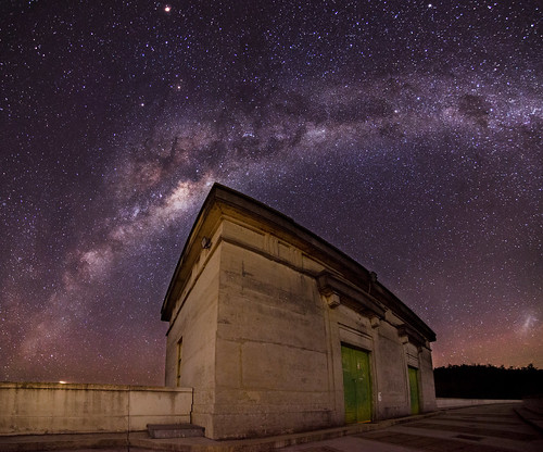 Canning Dam Control Station Milky Way