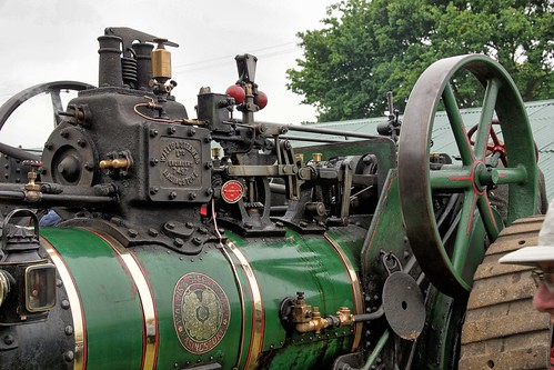 UK, Woolpit Steam Rally, Wallis & Stevens Expansion Engine, Pistons, HDR