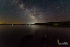 Lake DeSmet Milky Way (kevin-palmer) Tags: milkyway galaxy night sky stars starry astronomy astrophotography june summer nikond750 tokina1628mmf28 water reflection lakedesmet rocks wyoming astrometrydotnet:id=nova1627269 astrometrydotnet:status=failed