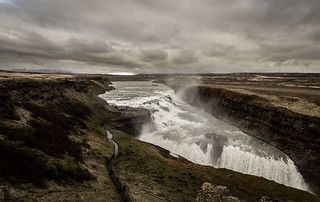 Gullfoss waterfall in Iceland in all it's glory! (Explore)