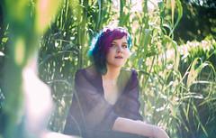 Josie Senior 4 of 4 (bear.hanrahan) Tags: portrait film senior girl grass vintage hair lens outdoors spring eyes shoot purple sony aesthetic tumblr vsco a7s
