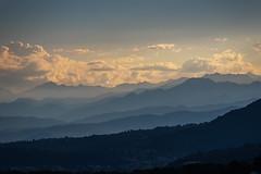 Sunset (explored) (Lollo Riva) Tags: sunset italy alps west switzerland ticino tramonto alpi ovest mendrisio