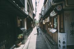 Pontocho Alley (gail m tang) Tags: travel japan alley kyoto pontocho
