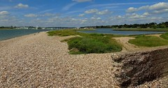 Warsash shore (samm.doyle) Tags: beach water hometown shoreline hampshire shore naturereserve warsash