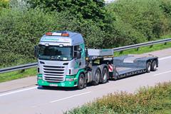 Scania G-420  Pttinger (karl.goessmann) Tags: trucks a2 scania grieskirchen landtechnik pttinger g420