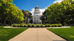 California State Capitol (mhoffman1) Tags: ca california capitolpark sonyalpha a7r capitol dome government governor neoclassical neoclassicalfredericbutler partlycloudy politcs rotunda statecapitol symmetrical