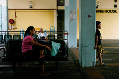DSCF0777 Colors of the public housing in Hong Kong (Scofield Chan) Tags: life street color hongkong folk uncle snapshot vivid fujifilm streetphoto local fujinon publichousing streetsnap xt1 fujinon35mm