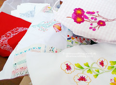 Romantic Motifs  stitcheries (Carina » Polka & Bloom) Tags: embroidery stitching mybook romanticmotifs