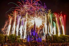 Magic Kingdom 16 (Jason Blalock) Tags: castle ride fireworks disney disneyworld wishes cinderella waltdisneyworld attraction fantasyland cinderellascastle wishesfireworks