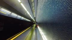 going underground : new perspectives (primo piano) Tags: blue underground underwater tunnel fisheye toledo tiles napoli metropolitana prospettiva scar bisazza gopro tusquets hero3