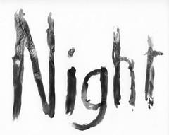 (bhkuist) Tags: white black night darkroom 35mm paper print photo nikon paint kodak painted 14 x system developer nikkor process tri sprint ilford fm3a alternative ais