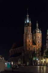 Krakow druga rano-113 (MMARCZYK) Tags: polska krakow nuit noc mariacki cracovie rynek pologne kosciol glowny