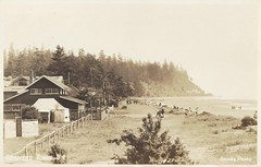 c. 1925 Stride Real Photo Postcard #27 - Reifel home at Crescent Beach, B.C. (WhiteRockPier) Tags: beach bc britishcolumbia postcard crescent crescentbeach reifel stride semiahmoobay stridephoto