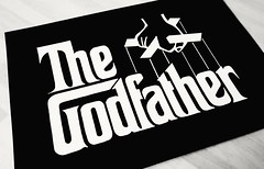 My type study of the Godfather logo. #typestudy #handdrawn #Godfather (LazyRetina) Tags: godfather handdrawn typestudy