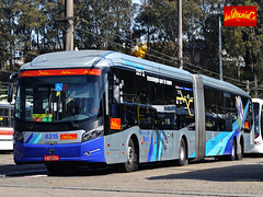 Metra 8315 (busManíaCo) Tags: busmaníaco nikond3100 metra metropolitano caio millennium blue azul green verde grey cinza red vermelho brt articulado mercedesbenz o500uda bluetec 5