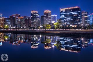 Calmness of Night, Tokyo Marunouchi