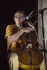 Paul de Jong Performing Live at the 4th Street Theatre (Shrieking Tree) Tags: music experimental folk live performance cello classical neoclassical thebooks pauldejong