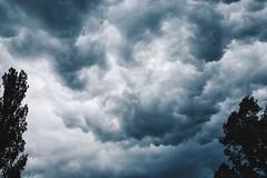Beautyful Sky (Markus Fischer [meQ]) Tags: storm rain clouds dark schweiz switzerland fuji swiss fujifilm drama thunder fujix vsco vscocam x100t