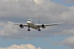 QR0001 DOH-LHR (A380spotter) Tags: approach landing arrival finals shortfinals boeing 787 8 800 dreamliner dreamliner a7bcu qatar  qatarairways qtr qr qr0001 dohlhr runway27l 27l heathrow egll lhr