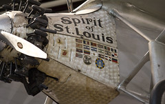 Smithsonian Air and Space Museum Washington DC Spirit of St. Louis (watts_photos) Tags: st museum airplane louis smithsonian dc washington spirit space aircraft air charles lindbergh 55250