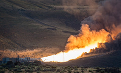 Booster Test for Space Launch System Rocket (NHQ201606280014) (NASA HQ PHOTO) Tags: usa utah nasa promontory testarea billingalls spacelaunchsystemsls qualificationmotortestqm2