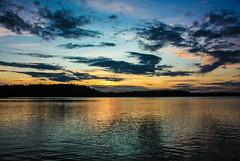IMG_8996-1 (Andre56154) Tags: sunset sky sun lake water clouds see wasser sonnenuntergang sweden schweden himmel wolken dmmerung ufer sonne afterglow schren