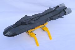SSXDragonshark001 (Dragonov Brick Works) Tags: lego submarine snot microscale studless