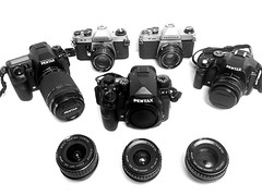 Meet the family (Brian Wilson.ie) Tags: pentaxkx smcpentaxm50mmf14 smcpentaxm50mmf17 asahipentaxk1000 smcpentaxk28mmf35 pentaxk1 asahipentaxkx pentaxk5 smcpentaxk55mmf18 smcpentaxk35mmf35