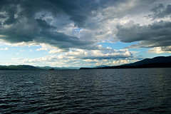 more sky drama (avflinsch) Tags: cloud mountain lake ny storm george 500px ifttt