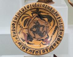 "Etruscan Pottery IX: The Wolf-man or the Shape of Fate. (Egisto Sani) Tags: rome ceramica roma art ceramic arte plate di pottery vases etruscan piatto herakles heracles nesso etrusca etrusco nessus eracle style"" ""villa nessos deianira deianeira ""museo giulia"" painter"" museonazionaleetrusco ""stile lupo"" ""pittore etrusco"" ""wolfman""""uomo ""tityos tityos"" ""pontic pontico"""