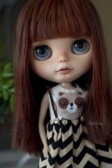 Ya voy mamiiii !!! (Heniferu) Tags: bigeyes ooak blythe artdoll custom takara customblythe takaratomy blythecustom heniferu shisencolors