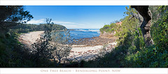 One Tree Beach pano 4000 pxls (caralan393) Tags: pano bendalong