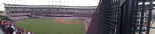 The Jake Panoramic View Progressive Field