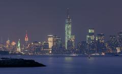 Start Spreading the News... (ADW44) Tags: nyc newyork newjersey twilight manhattan bluehour bigapple worldfinancialcenter bayonne worldtrade