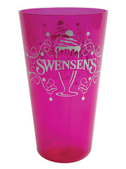 พิมพ์แก้วน้ำพลาสติก | สเวนเซ่นส์ |Screen Printing Cup Swensens