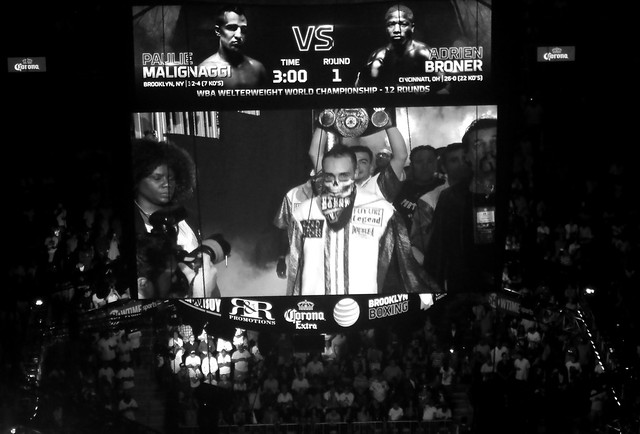 "fight night in brooklyn - ""from Brooklyn,NY...."""