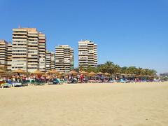 Playamar (Orzaez212) Tags: summer espaa day sunny playa clear verano malaga torremolinos