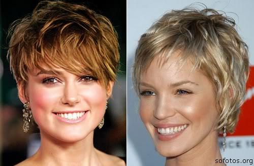 cortes de cabelo curto das celebridades