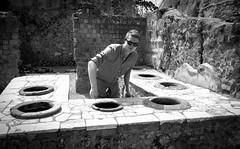 Herculaneum-0157 (sally henny penny) Tags: blackandwhite mike monochrome ruins brother archaeologicalsite 24105mmf4lisusm herculaneumitaly canon6d lightroom5 ercolanoitalia herculaneum2013