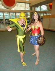 Wonder Woman with Iron Fist at SDCC 2013 (Cutterin) Tags: woman wonder san comic cosplay diego wonderwoman comiccon con sdcc ironfist 2013 dalemortonstudio sdcc2013 sandiegocomiccon2013 cutterin