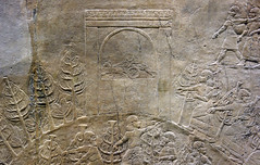 Lion Hunts of Ashurbanipal, top of hill (profzucker) Tags: sculpture london art ancient iraq lion palace relief beginning britishmuseum gypsum tigris mosul hunt assyrian excavated ashurbanipal neoassyrian ninevah rassam 645bce