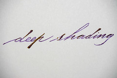 Shading (Martin @ Oulu) Tags: private reserve calligraphy penmanship spencerian mvr tanzanite tamron90mm28 nikond600