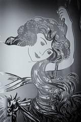 228/365 La sirena / The mermaid (Pedro Payo) Tags: woman blanco mujer y negro mermaid sirena joven pensativa