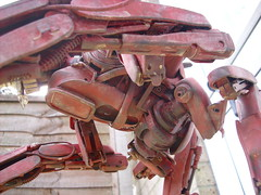 latest works 115 (YetiRob) Tags: 120 robot models scifi mecha mak mech scratchbuilt scratchbuild maschinenkriegerinspiredscratchbuilds sf3dscratchbuilds