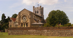 Abbey church (Archimandrill) Tags: church romanesque walthamabbey williamburges