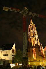 Kaiserdom St. Bartholomaus (tomosang R32m) Tags: longexposure church night germany deutschland frankfurt kirche  frankfurtammain cathedrale stiftskirche     kaiserdomstbartholomus   kaiserdomsanktbartholomaus