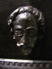 Face (leedslily) Tags: wood heritage church face hair beard open leeds stjohns carving days historic pulpit briggate