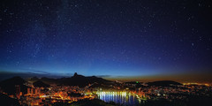 I see Rio de Janeiro thus ... and more, I do not speak Lacked the fireworks ... Goodbye Rio ... see you soon (Valter Patrial) Tags: art brasil riodejaneiro night clear valter patrial samyang14mmf28 slta99v