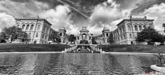 Palais Longchomp Marseille, France (PazzeRo) Tags: sky france canon eos marseille cloudy south historic palais partly provonce 450d longchomp