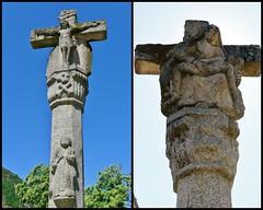 Crucero en el monasterio de Santo Estevo de Ribas de Sil. (mayjes) Tags: galicia jesús crucero orense monasteriodesantoestevoderibasdesil